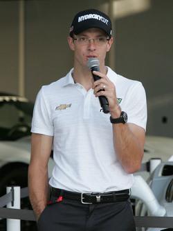Chevrolet aero presentation: Sebastien Bourdais, KVSH Racing