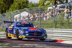 #33 Team Premio Mercedes-Benz SLS AMG GT3: Rob Huff, Kenneth Heyer, Philipp Frommenwiler, Christian Krognes