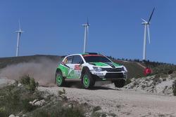 Pontus Tidemand and Emil Axelsson, Skoda Motorsport Skoda Fabia R5