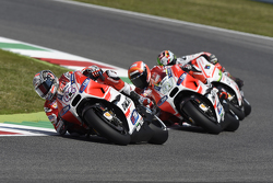 Andrea Dovizioso and Michele Pirro, Ducati Team and Danilo Petrucci, Pramac Racing Ducati