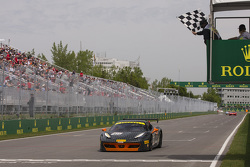 #38 The Collection Ferrari 458: Gregory Romanelli wins