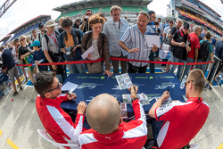 AF Corse Ferrari: Gianmaria Bruni, Toni Vilander, Giancarlo Fisichella