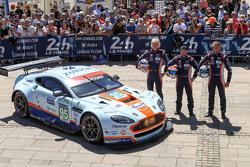 奥斯顿马丁车队95号阿斯顿马丁Vantage GTE赛车:马克·索伦森、克里斯多夫赫·尼加德、尼基·蒂姆