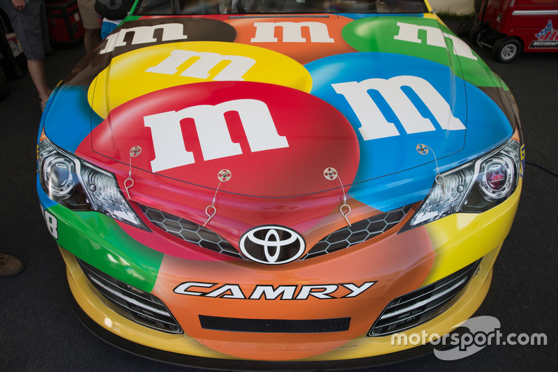 kyle busch 39 s nascar toyota camry at goodwood festival of speed. Black Bedroom Furniture Sets. Home Design Ideas