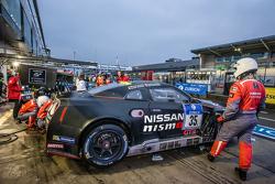 #35 Nissan GT Academy Nissan GT-R Nismo GT3: Alex Buncombe, Kazuki Hoshino, Michael Krumm, Lucas Ordonez