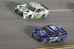 Matt Dibenedetto, BK Racing Toyota and Ricky Stenhouse Jr., Roush Fenway Racing Ford