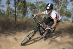 Jamie Whincup, Red Bull Holden on a mountain bike