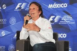 Emerson Fittipaldi Mexican GP event