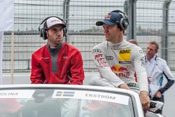 Miguel Molina and Mattias Ekström, Audi Sport Team Abt Sportsline Audi RS 5 DTM