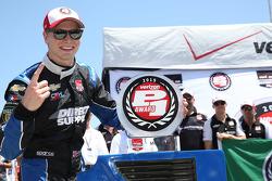 Polesitter Josef Newgarden, CFH Racing Chevrolet