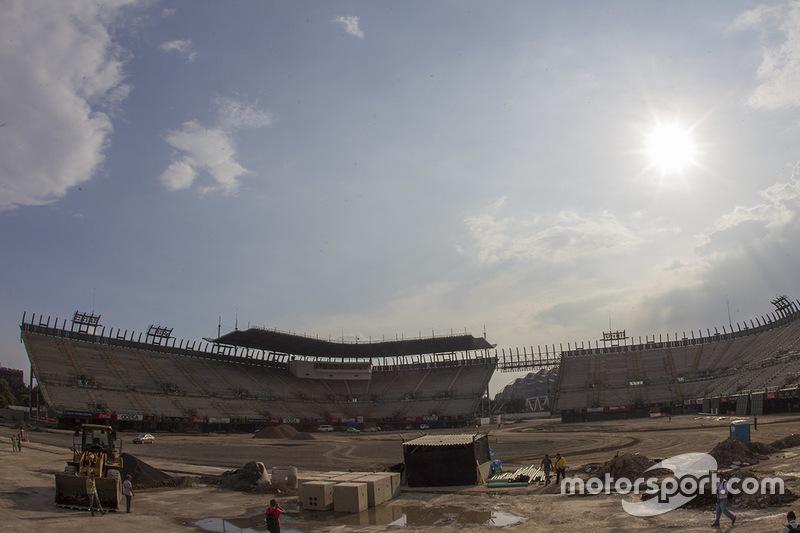 Autódromo Hermanos Rodríguez, zona del estadio