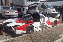 The Zulltec CZ-2 CN (LMP3) prototype