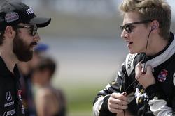 James Hinchcliffe, Schmidt Peterson Motorsports and Josef Newgarden, CFH Racing