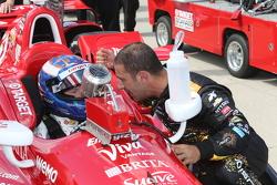 Tony Kanaan and Scott Dixon, Chip Ganassi Racing