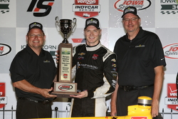 Second place Josef Newgarden, CFH Racing