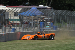 1970 Lola T165 Jim Ferro crash sequence