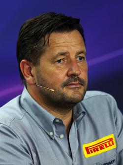Paul Hembery, Direttore Pirelli Motorsport