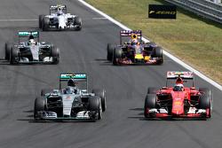 Nico Rosberg, Mercedes AMG F1 Team Kimi Raikkonen, Scuderia Ferrari