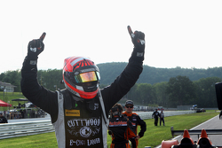 Race winner #52 PR1 Mathiasen Motorsports Oreca FLM09: Mike Guasch, Tom Kimber-Smith