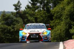 范巴克车队55号雷克萨斯RC-F GT3:多米尼克·范巴克、马里奥·范巴克