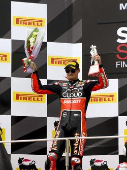 Second place Chaz Davies, Ducati Team