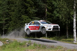 Massimiliano Rendina and Emanuele Inglesi, Mitsubishi Lancer Evo X