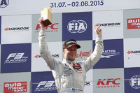 Race winner Felix Rosenqvist, Prema Powerteam Dallara Mercedes-Benz
