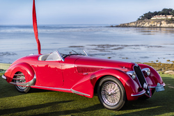 Robert M. & Anne Brockinton Lee, 1938 Alfa Romeo 8C 2900B Touring Spider
