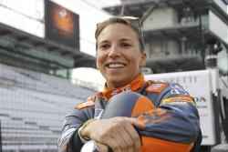 IndyCar and Formula E driver Simona De Silvestro
