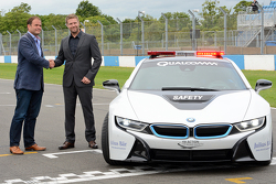 BMW safety car presentation