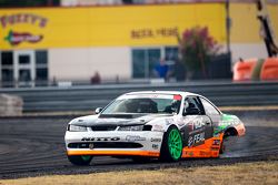 Drift action on three wheels