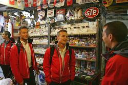 Oliver Jarvis, Andre Lotterer, Marcel Fassler, Benoit Tréluyer, Audi Sport Team Joest