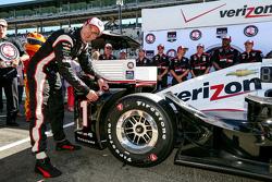 Polesitter Will Power, Penske Racing Chevrolet