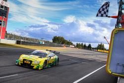 Winner Mike Rockenfeller, Audi Sport Team Phoenix Audi RS 5 DTM