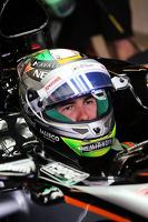 Formel 1 Fotos - Sergio Perez, Sahara Force India F1, VJM08