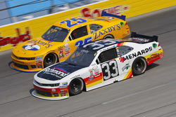 John wes Townley, Athenian Motorsports Chevrolet and Paul Menard, Richard Childress Racing Chevrolet