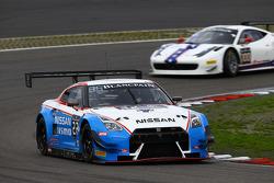 #22 Nissan GT Academy Team RJN Nissan GT-R Nismo GT3: Ricardo Sanchez, Gaëtan Paletou, Harry Tincknell