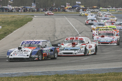 Jose Savino, Savino Sport Ford y Carlos Okulovich, Sprint Racing Torino y Matias Jalaf, Catalan Magni Motorsport Ford