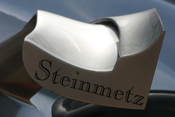 McLaren Mercedes bodywork with Steinmetz Sponsorship