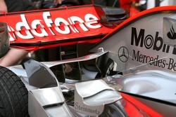 McLaren Mercedes, detail