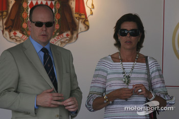 Prince Albert II of Monaco, Princess Caroline of Monaco