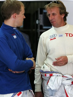 Mattias Ekström and Frank Biela