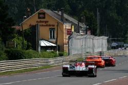 #3 Audi Sport Team Joest Audi R10: Mattias Ekström, Alexandre Premat, Lucas Luhr