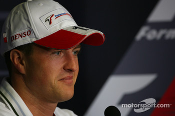 FIA press conference: Ralf Schumacher, Toyota Racing