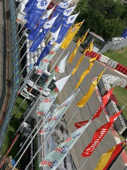 Flags at the Nürburgring