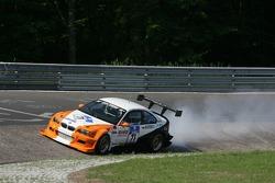 #71 Luigi Taverna Racing & Classic BMW M3 E46: Valerio Leone, Giorgio Piodi, Giuliano Bottazzi