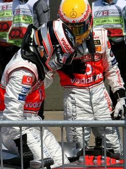 Pole Position, 1st, Lewis Hamilton, McLaren Mercedes, MP4-22, 2nd, Fernando Alonso, McLaren Mercedes, MP4-22