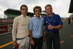 Nicolas Prost, Alain Prost and Robert Pergl