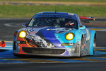 #80 Flying Lizard Motorsport Porsche 997 GT3-RSR: Johannes van Overbeek, Jorg Bergmeister, Seth Neiman