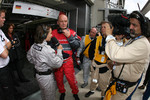 Dr. Wolfgang Ullrich after the crash of Mike Rockenfeller